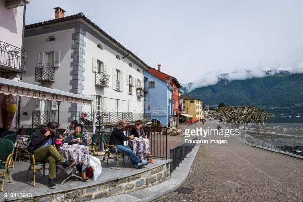 Switzerland. Canton Ticino. Ascona. Landscape.