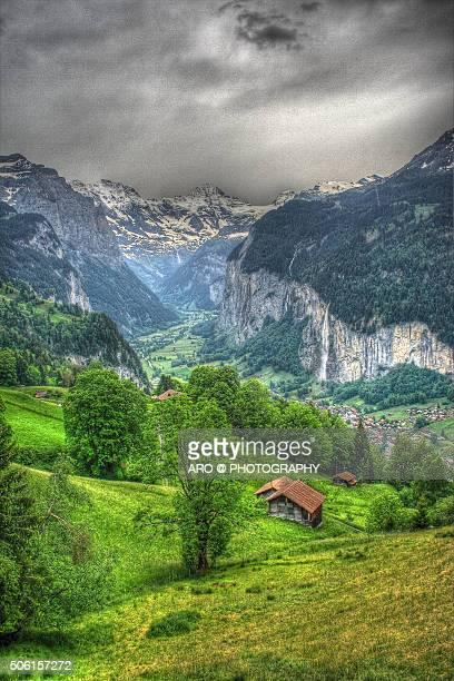 Switzerland Chalet, Mountain