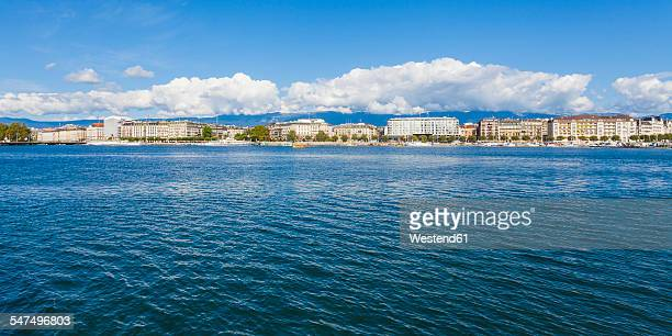Switzerland, Geneva, cityscape with Lake Geneva