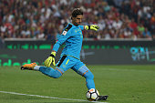 switzerland goalkeeper yann sommer during match