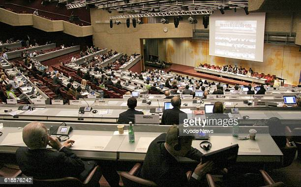 GENEVA Switzerland Governmentlevel talks are held at the United Nations in Geneva on Jan 19 on the draft of a new international treaty to regulate...