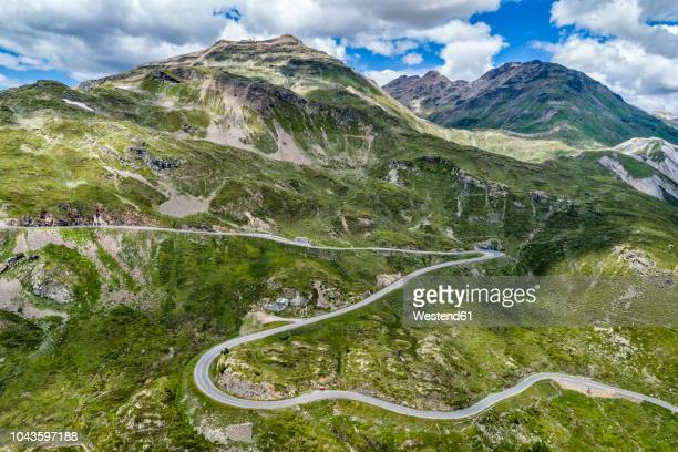 switzerland, graubuenden canton, livigno alps, bernina pass - bergpass stock-fotos und bilder