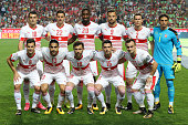 switzerland initial team during match between