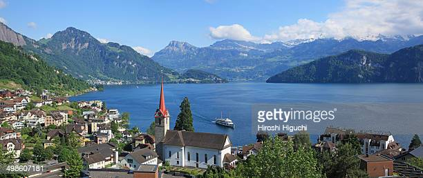Switzerland, Lake Lucerne