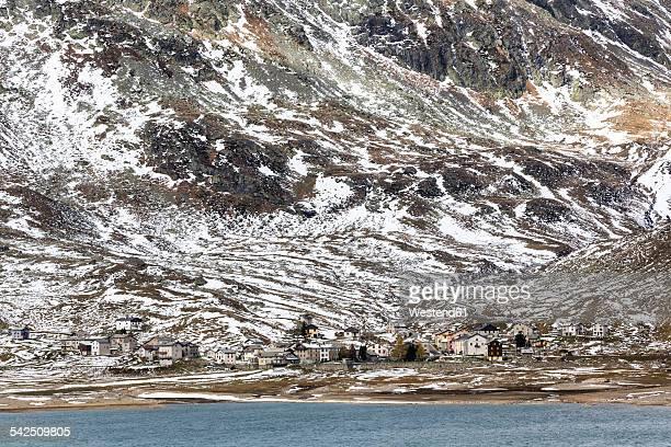 Switzerland, Lombardy, Province of Sondrio, Montespluga at Spluegen Pass