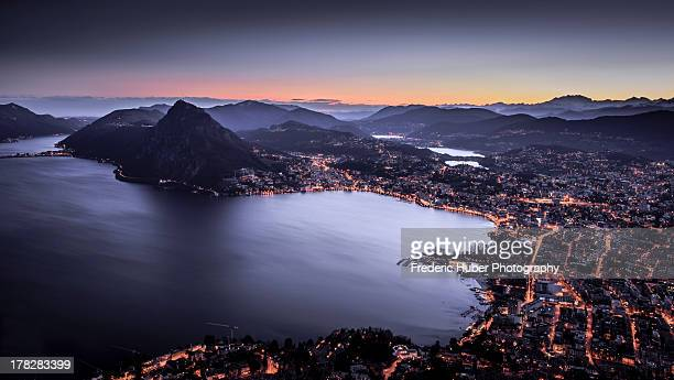 Switzerland: Lugano Sunrise
