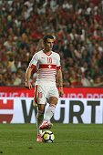 switzerland midfielder granit xhaka during match