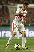 lisbon portugal switzerland midfielder steven zuber