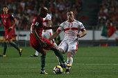 switzerland midfielder xherdan shaqiri r portugal