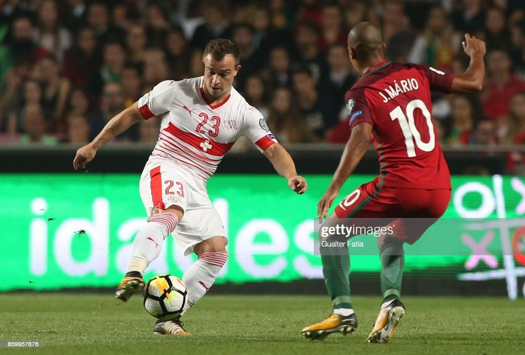 Portugal v Switzerland - FIFA 2018 World Cup Qualifier : News Photo