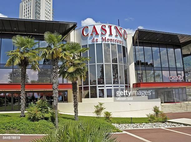 Switzerland - Montreux: The gambling casino