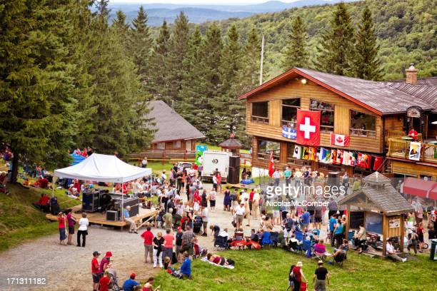 Switzerland National Holiday at Mount Sutton