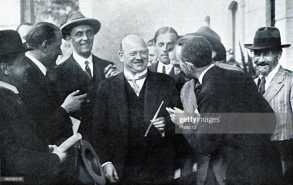 Switzerland October 16 1925 Locarno Conference Where The