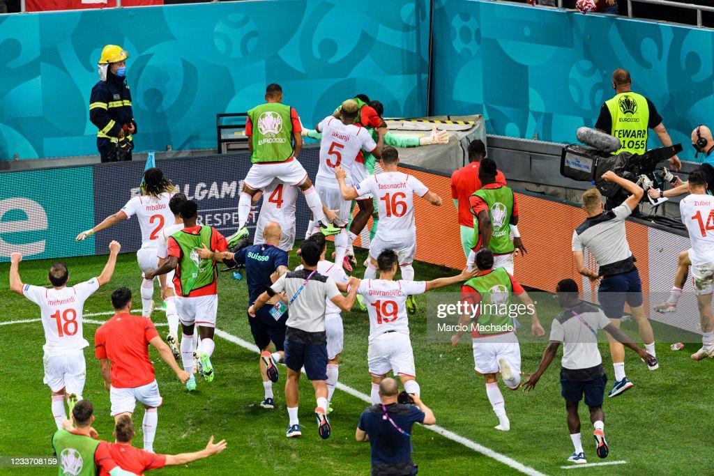 France v Switzerland - UEFA Euro 2020: Round of 16 : News Photo