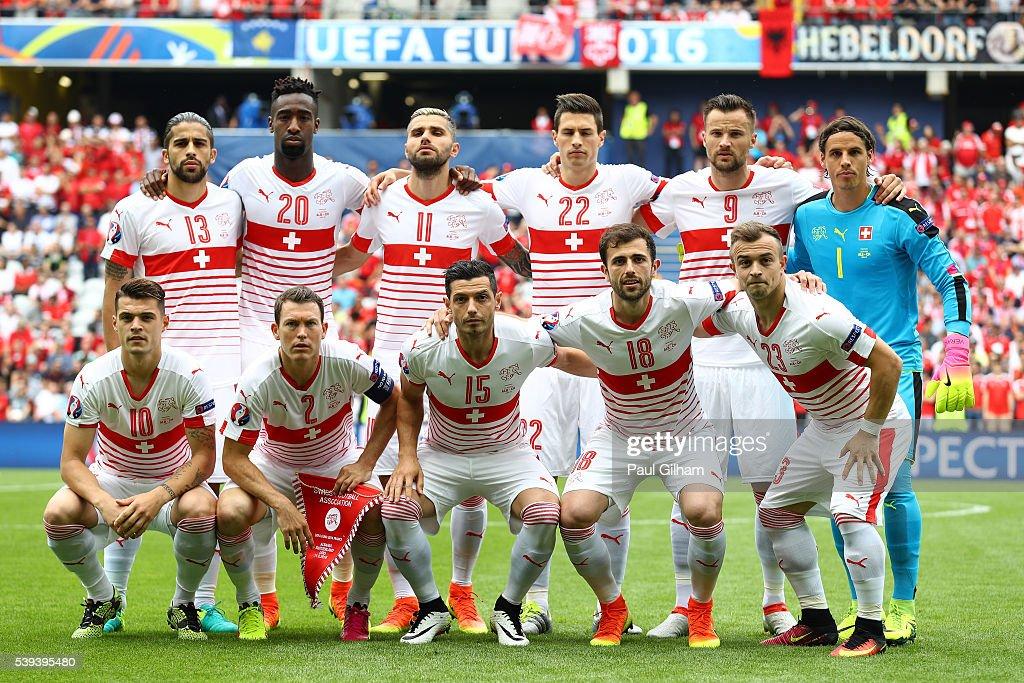 Albania v Switzerland - Group A: UEFA Euro 2016 : News Photo
