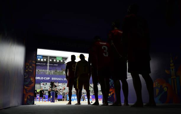 RUS: El Salvador v Switzerland - FIFA Beach Soccer World Cup 2021