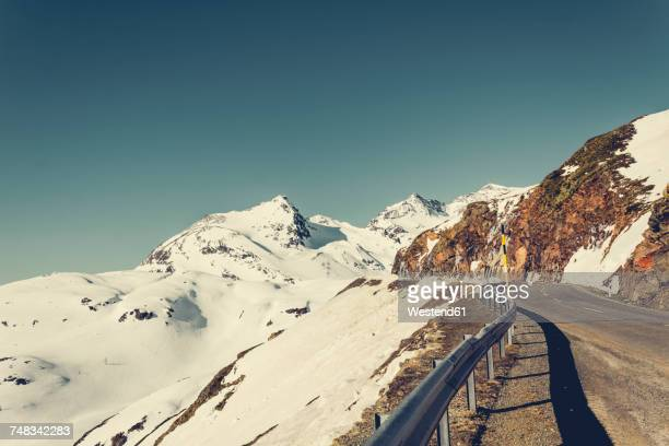 Switzerland, Poschiavo, Bernina Pass in morning light