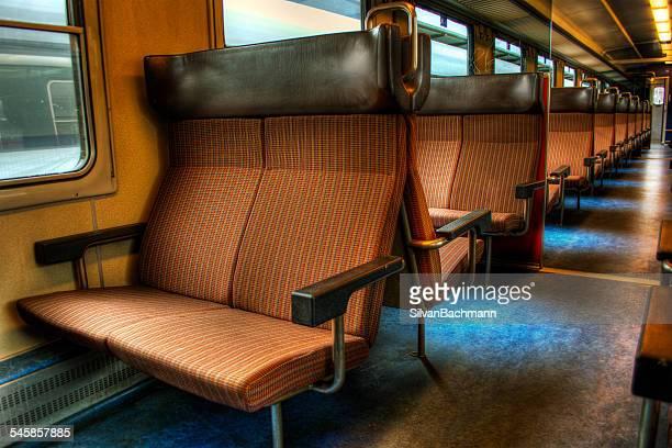 Switzerland, Seats in empty train