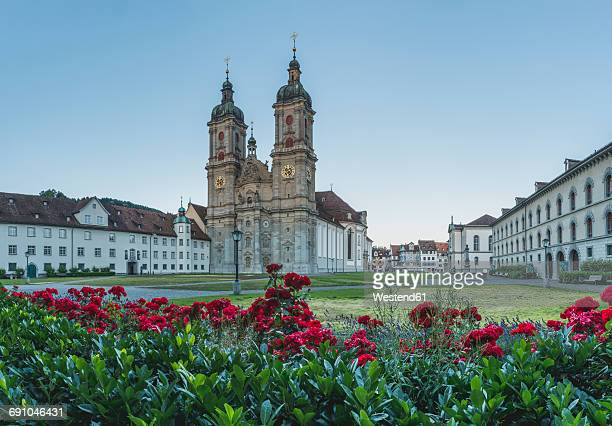 Switzerland, St Gallen, view to collegiate church
