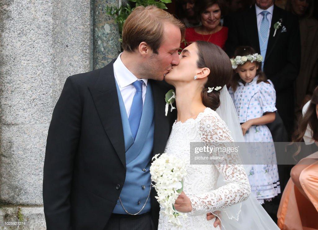 Wedding of Constantine of Bavaria and Deniz Kaya : News Photo