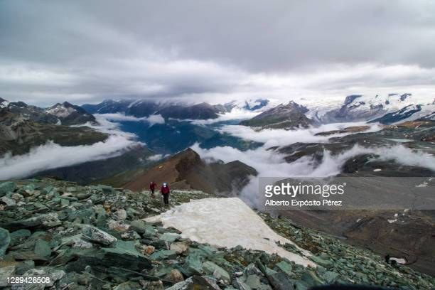 switzerland. swiss alps from the matterhorn - pinnacle peak stock pictures, royalty-free photos & images