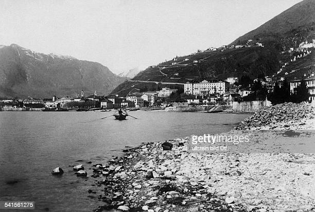Switzerland Tessin Locarno Cityscape Photographer Ang Monotti 1900Vintage property of ullstein bild