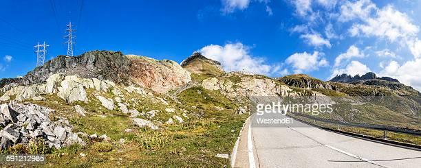 Switzerland, Tessin, view to Nufenen Pass