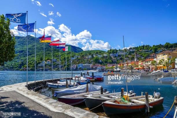 switzerland, ticino, ascona - ascona stock pictures, royalty-free photos & images