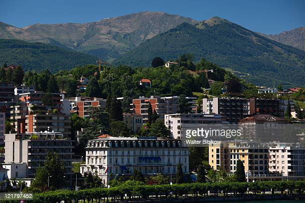 Switzerland, Ticino, Lake Lugano, Lugano, Lakefront by Riva Caccia