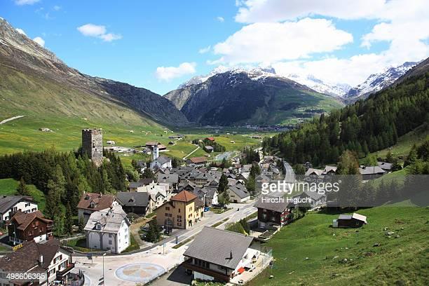 Switzerland, Uri, Hospental