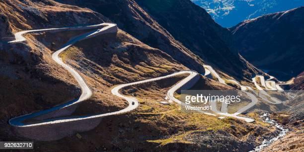Switzerland, Valais, Alps, Gotthard pass