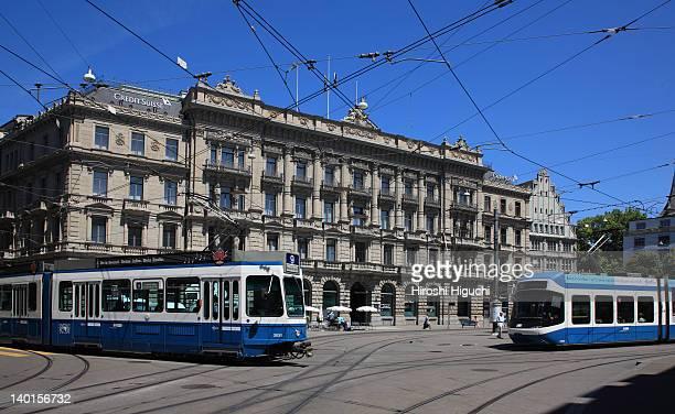 Switzerland, Zürich, Paradeplatz