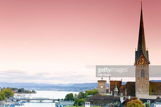 Switzerland, Zurich, city view