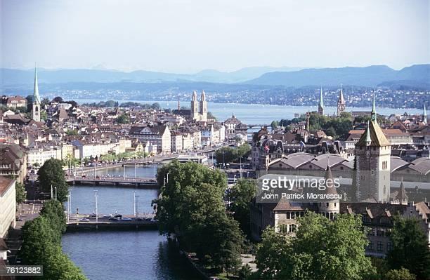 Switzerland, Zurich, cityscape
