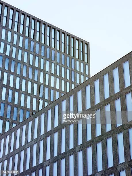 Switzerland, Zurich, facade of modern office tower