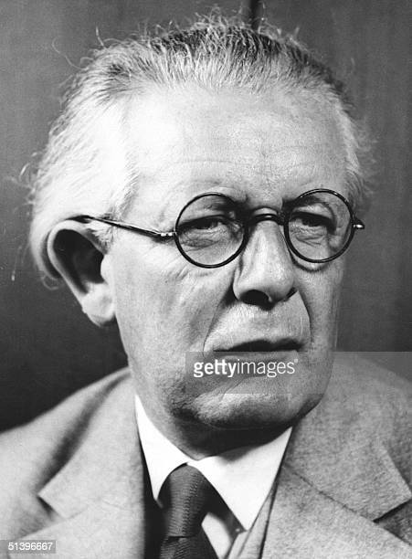 An undated portrait of pioneering Swiss psychologist and philosopher Jean Piaget