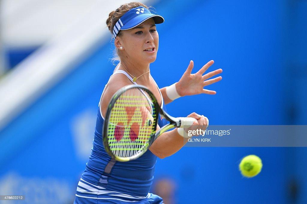 TENNIS-WTA-GBR-EASTBOURNE : News Photo