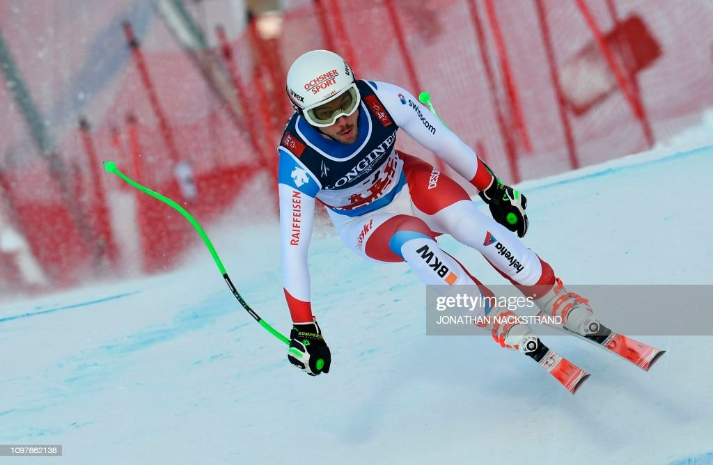 SWE: FIS World Ski Championships - Men's Alpin Combined