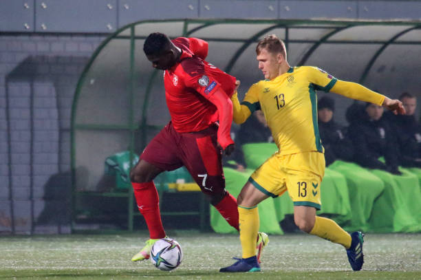 UNS: Lithuania v Switzerland - 2022 FIFA World Cup Qualifier