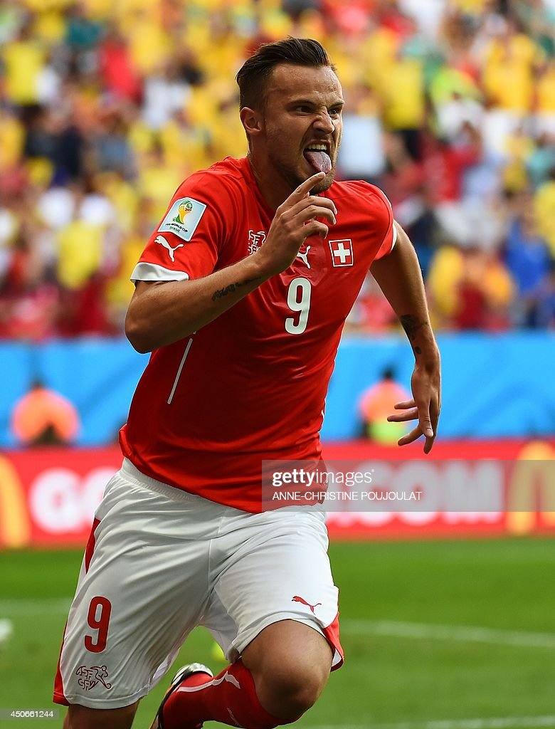 FBL-WC-2014-MATCH09-SUI-ECU : News Photo
