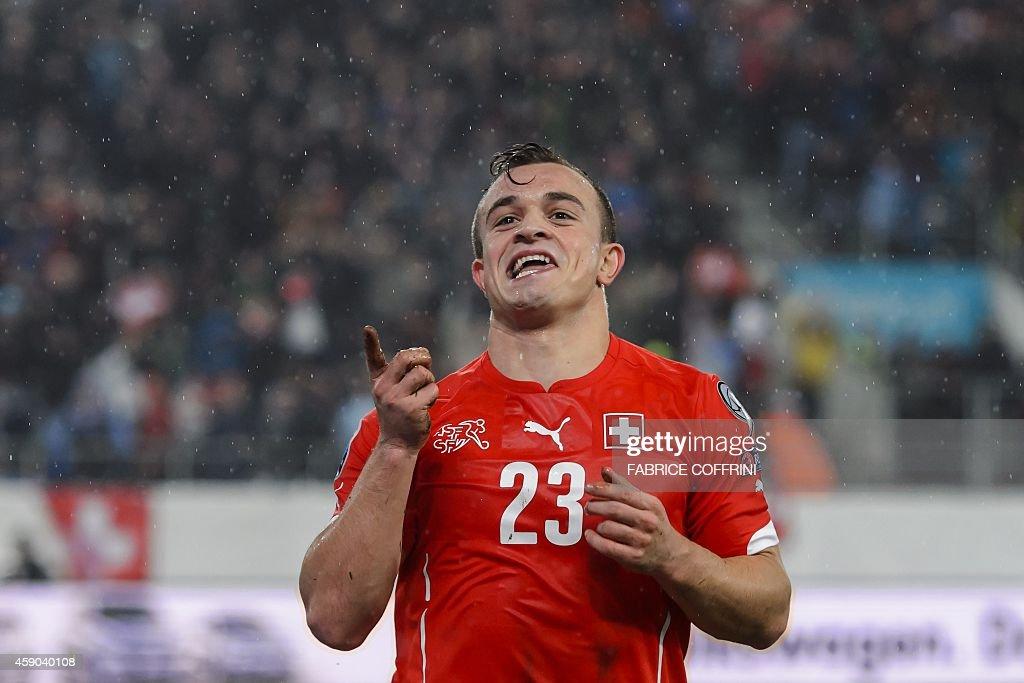 FBL-EURO-2016-SUI-LTU : News Photo