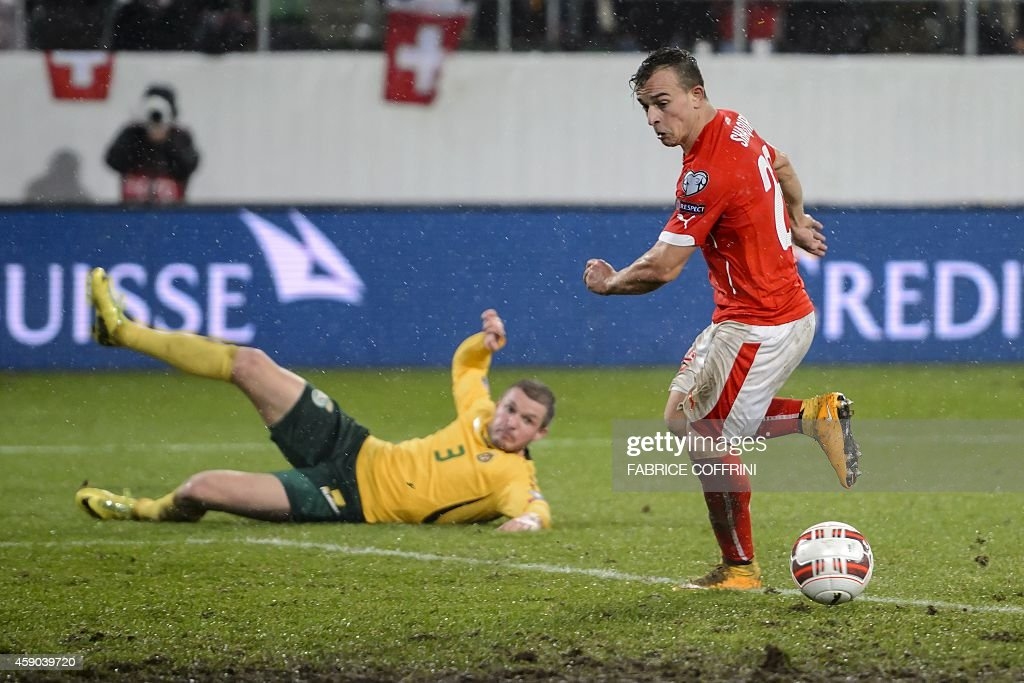 FBL-EURO-2016-SUI-LTU : News Photo