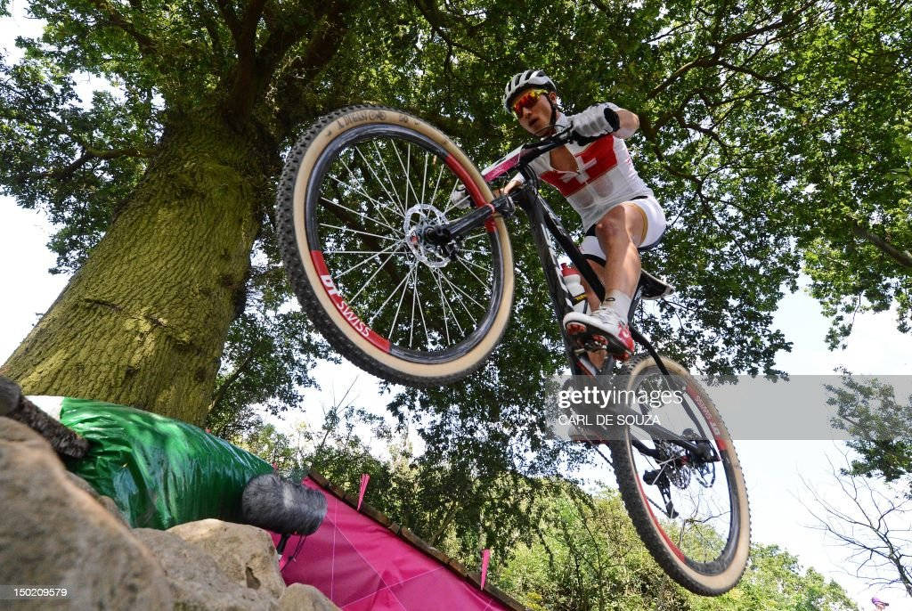 Switzerland S Nino Schurter Competes To Pictures Getty Images