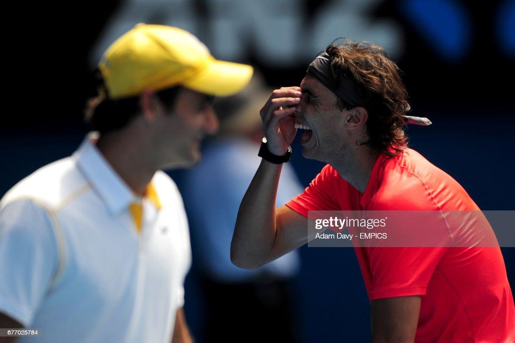 Tennis - 2011 Australian Open - Qualifying Day - Melbourne Park : News Photo