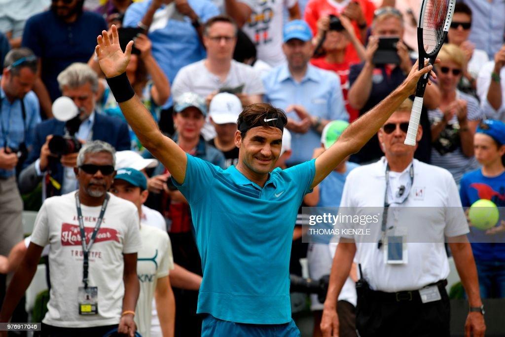 TOPSHOT-TENNIS-ATP-GER-2018 : News Photo