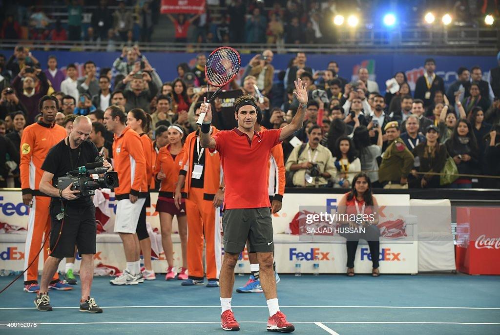 TENNIS-IPTL-IND : News Photo