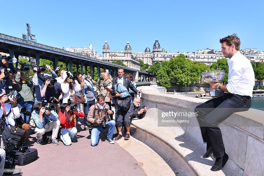 2015 French Open - Stan Wawrinka : News Photo