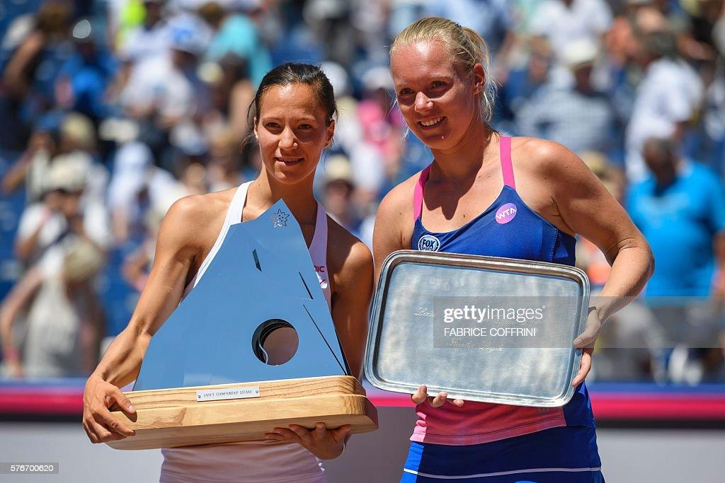 TENIS-WTA-SUI : News Photo
