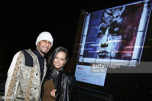 Swizz Beatz and Alicia Keys celebrate the 25th anniversary of the Canon EOS Rebel SLR Camera with Rebel With A Cause to showcase #TheUnknowns on...