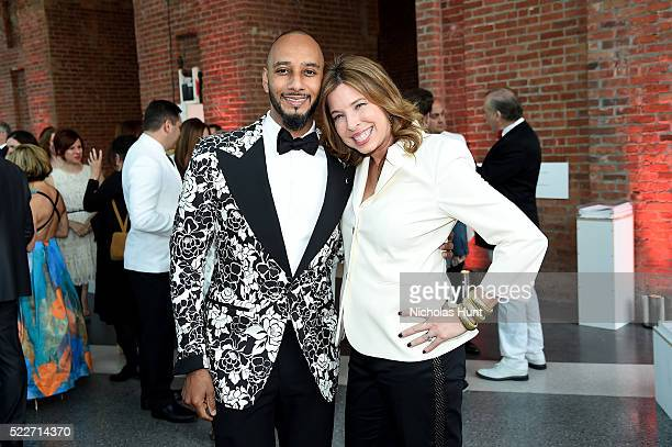 Swizz Beatz and director of the Brooklyn Museum Anne Pasternak attend The 2016 Brooklyn Museum Artists Ball Honoring Stephanie and Tim Ingrassia on...
